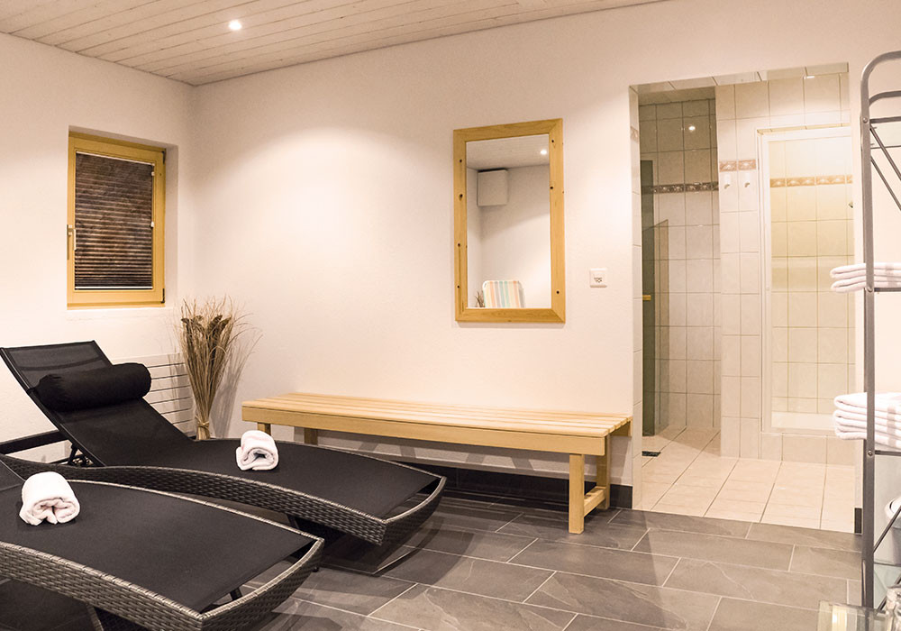 Relaxation room at Alpin Live in Samnaun
